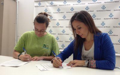 L'Ajuntament signa un conveni amb l'Associació Esplai Rabadà per realitzar activitats de lleure adreçades a persones discapacitades